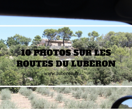 10 photos sur les routes du Luberon !