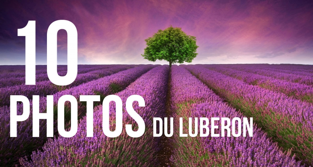 10 Photos De Paysages Du Luberon