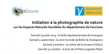 Initiation gratuite à la photographie de nature dans le Luberon