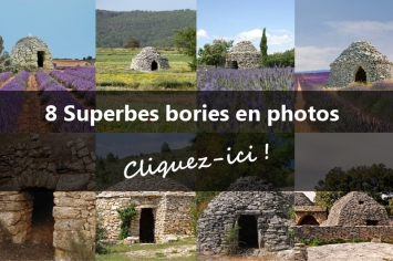 8 superbes bories en photos