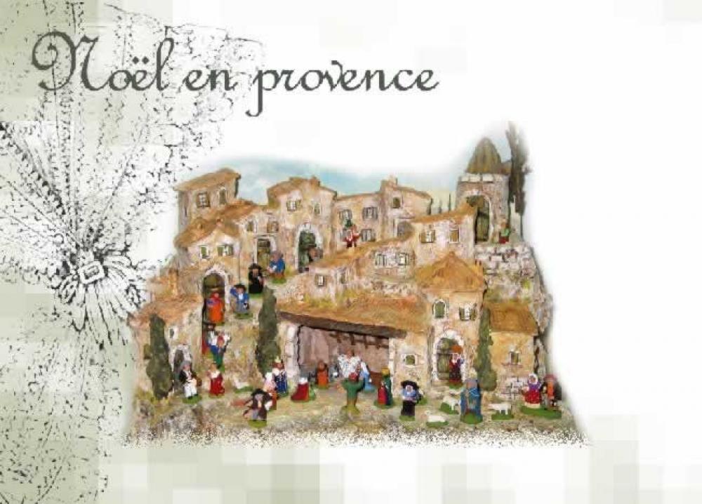 Noel en provence - Decor creche de noel provencal ...