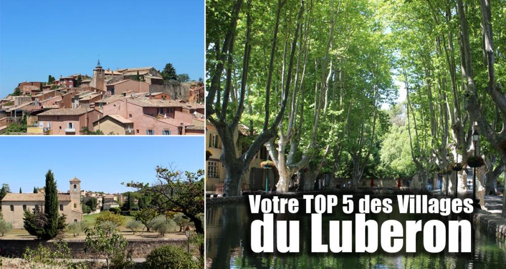 Les 5 villages préférés des internautes de Luberon.fr