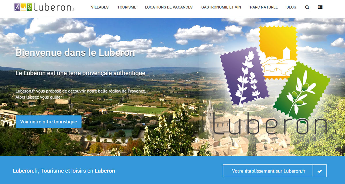 Nouvelle version de Luberon.fr