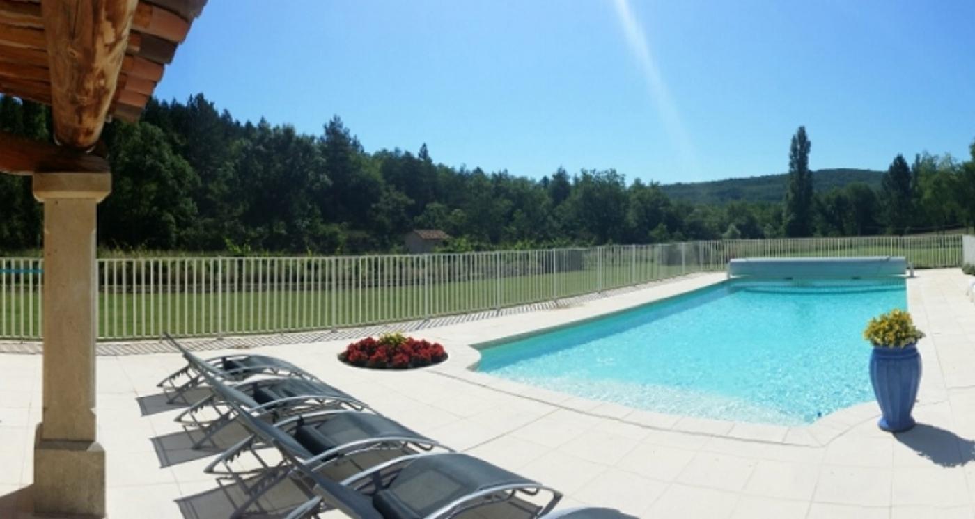 Location g te avec piscine priv e dans le luberon - Gite dans les landes avec piscine ...